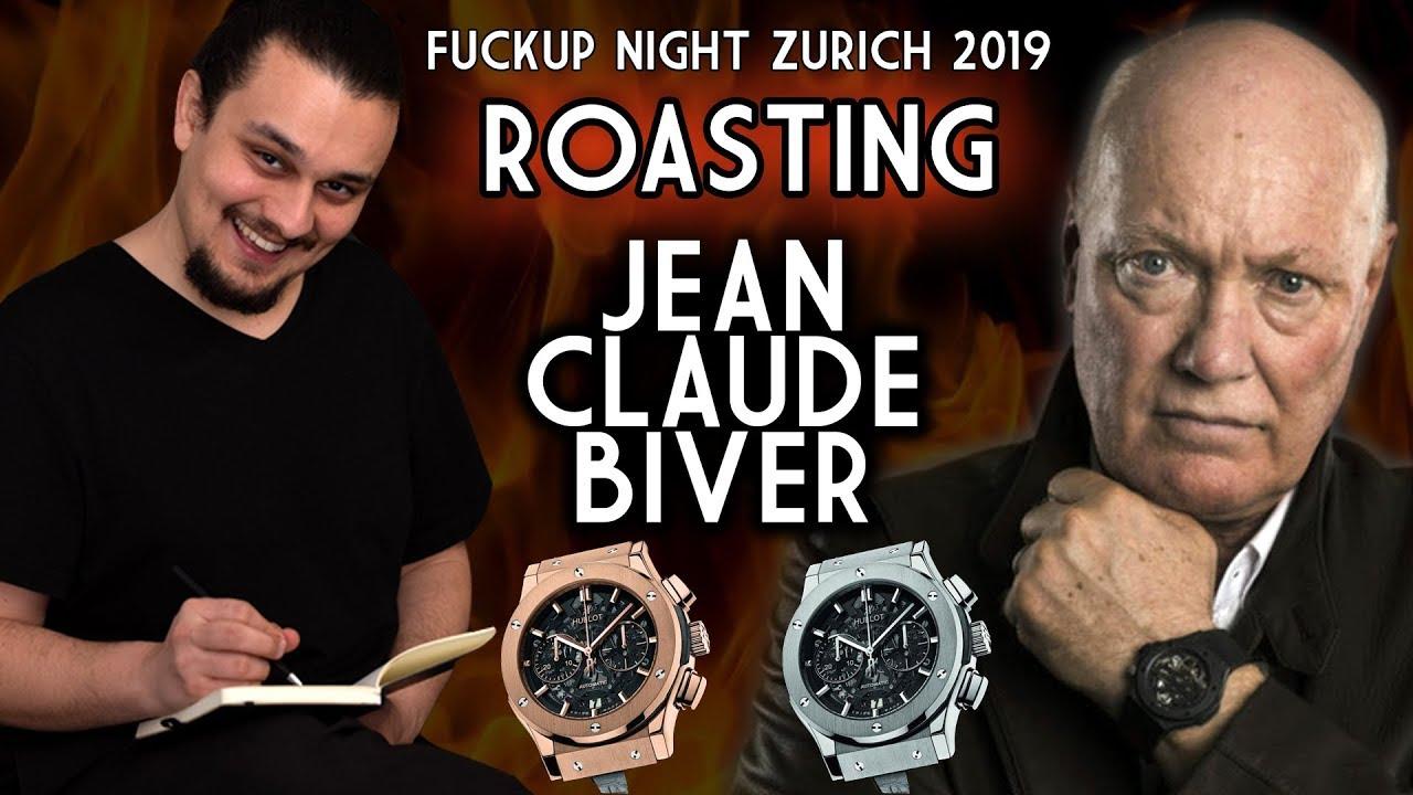 Roasting Jean Claude Biver