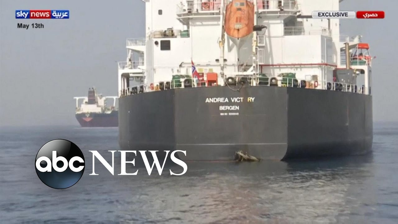 Commercial oil tankers reportedly attacked in Gulf of Oman
