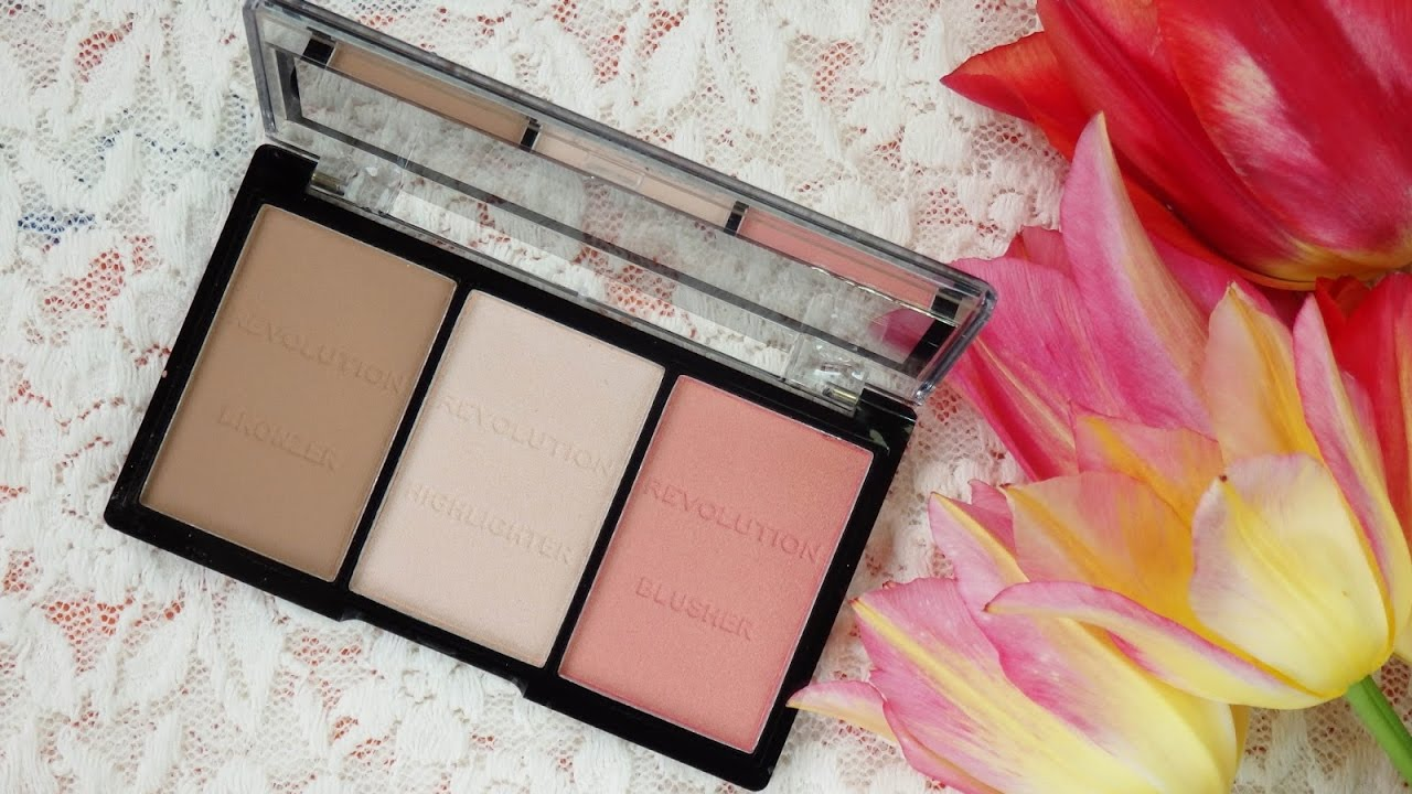 Makeup Revolution Ultra Sculpt and Contour Kit Review ll KaitlynBeauty