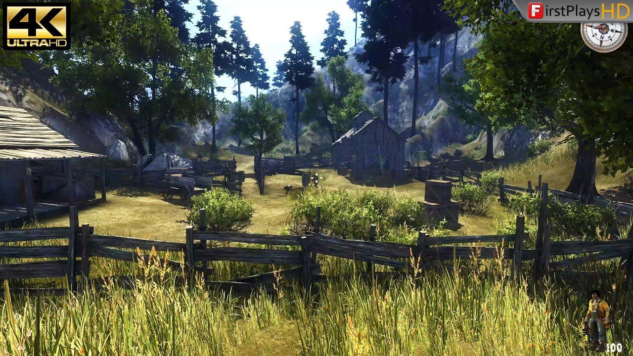 Call of Juarez (2006) - PC Gameplay 4k 2160p / Win 10