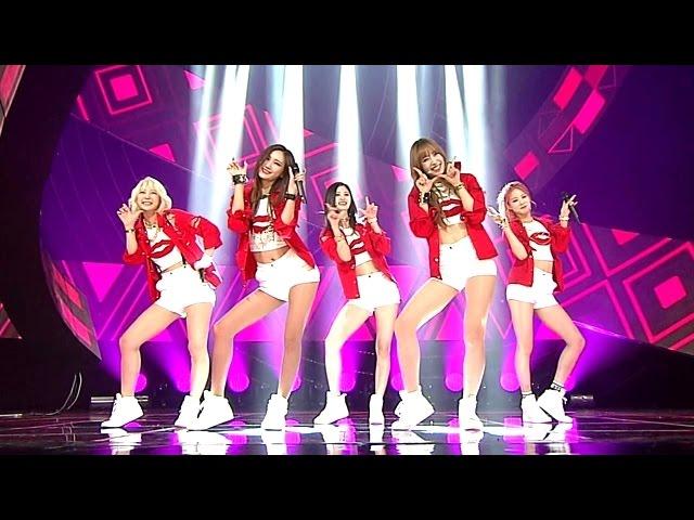 EXID(이엑스아이디) - Ah Yeah(아예) @인기가요 Inkigayo 20150524