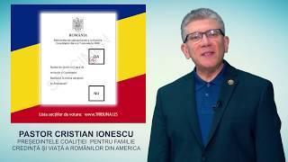 Referendum pentru familie 6-7 OCTOMBRIE 2018 - Diaspora votează