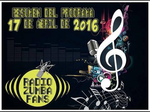 ZUMBAFANS RADIO 17-04-2016
