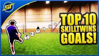 SkillTwins TOP 10 Amazing Football/Freestyle/Futsal Goals ★