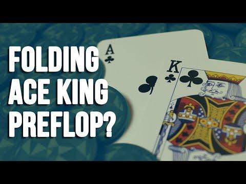 Should You Fold Ace King Preflop?   SplitSuit