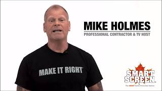 The Smart Screen Gutter Protection System. Mike Holmes Approved Product