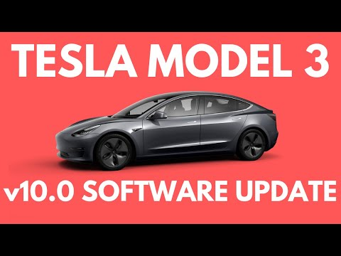 Tesla Model 3 v10 Software Update (2019.32.10.1)