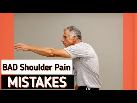3 Mistakes People with Bad Shoulder Pain Make
