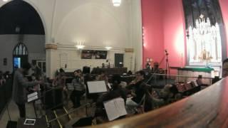 """Brahms' Requiem 4th movement """"Ihr Habt Nun Traurigkeit"""" for Solo Violin and String Orchestra"""