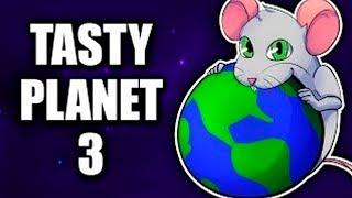 Накорми МЕНЯ! Симулятор Мыши Которая СЪЕЛА Всю Планету Tasty Planet 3 Мульт Игра от ПАПЫ Мы Играем