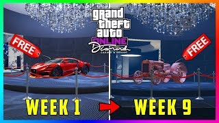 GTA 5 Online The Diamond Casino & Resort DLC Update - LUCKY WHEEL CARS! Win Mystery Vehicles & MORE!