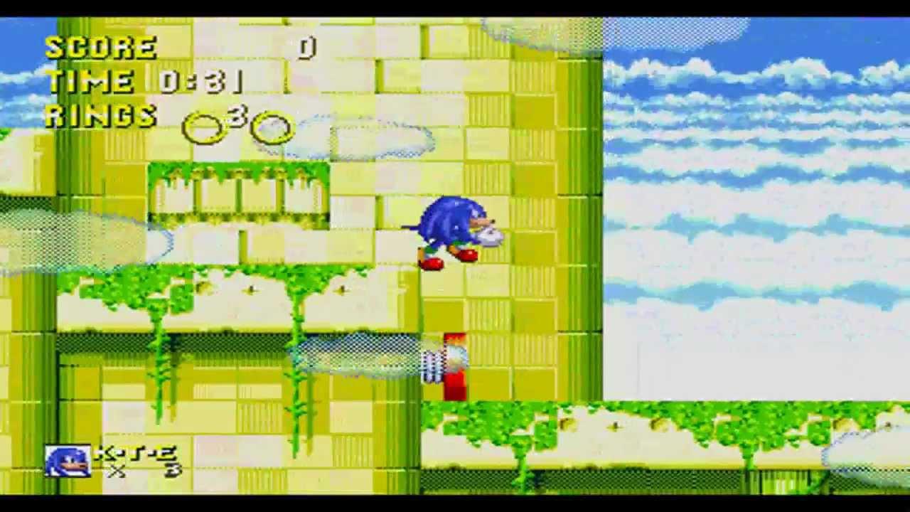 Sonic 3 & Knuckles - Proper Blue Knuckles