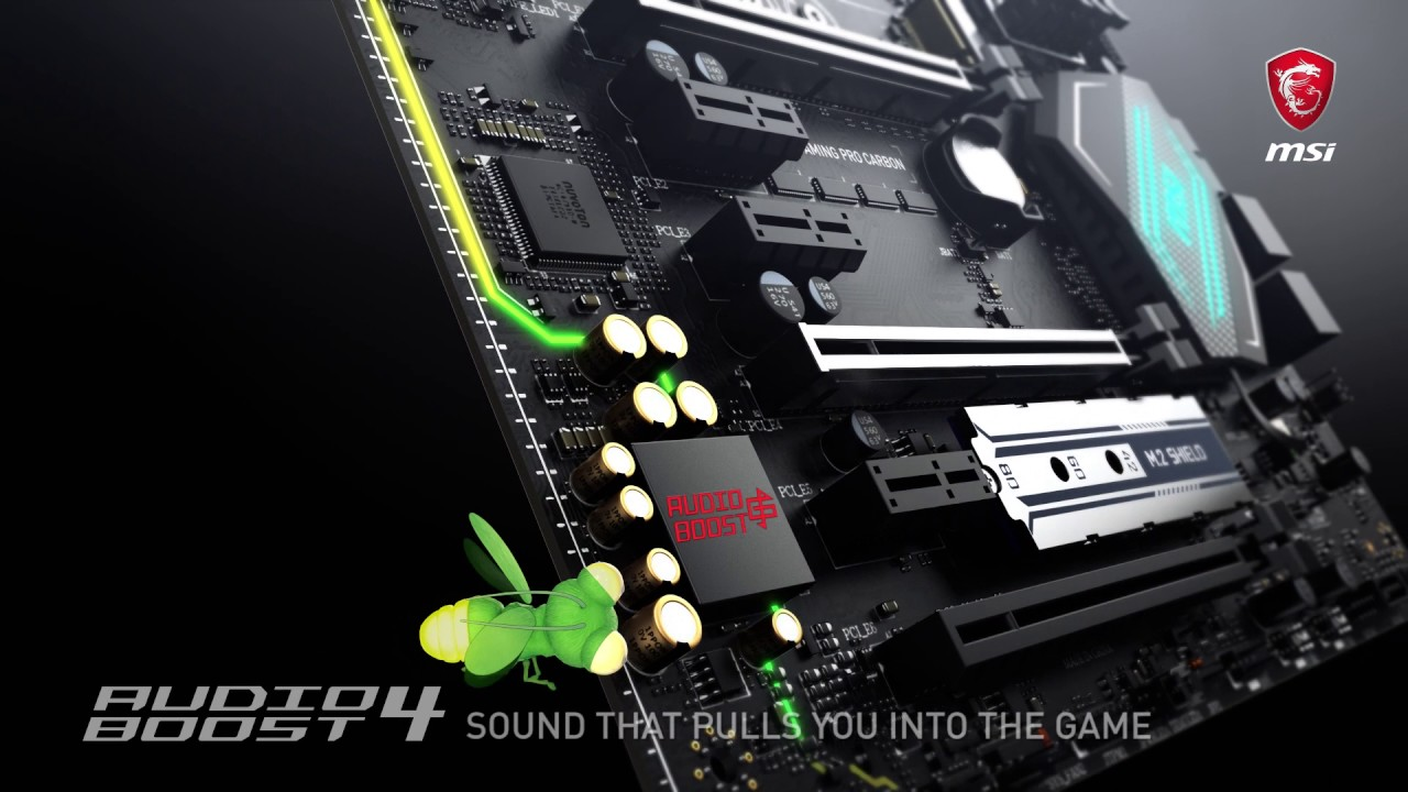 EXCEPTIONAL BY DESIGN | MSI Z270 GAMING PRO CARBON Motherboard