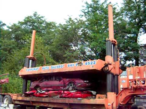 Portable Car Crusher For Sale