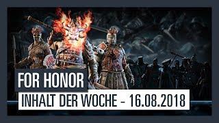 FOR HONOR - Neuer Inhalt der Woche (16.08.2018) | Ubisoft [DE]