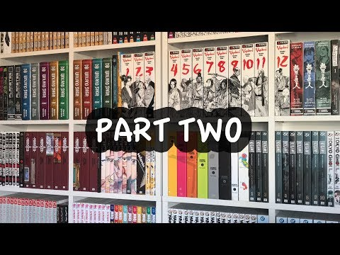 Manga Collection 2017 | 900+ Volumes! (PART TWO)