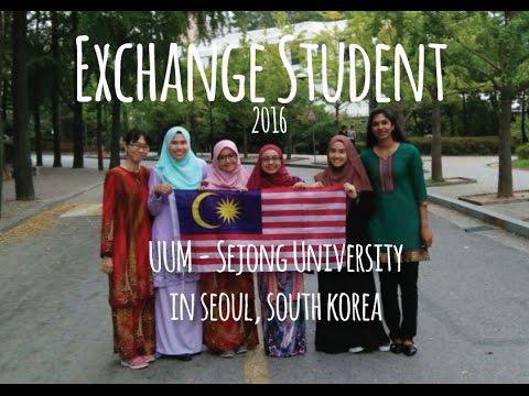 UUM-Sejong University, South Korea Exchange Student 2016