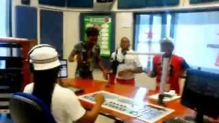 Gizzy F Live @ 107.6 UFM with Dj Andile & Sammy on Youth 2day Morning