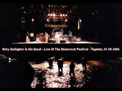Rory Gallagher & His Band - Live At The Bluesrock Festival - Tegelen, 01.09.1984