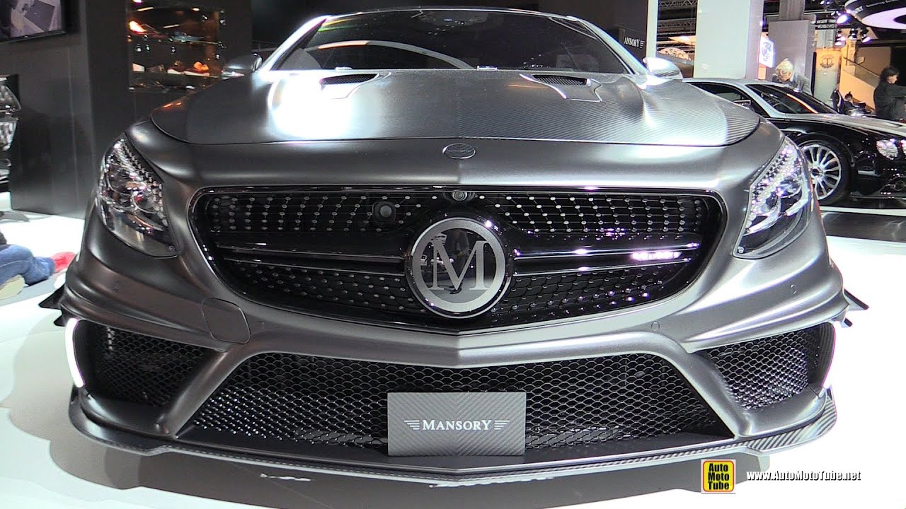 2016 Mercedes S63 AMG Coupe Mansory Black Edition 1000hp ...