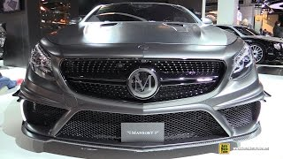 2016 Mercedes S63 AMG Coupe Mansory Black Edition 1000hp - Exterior, Interior Walkaround