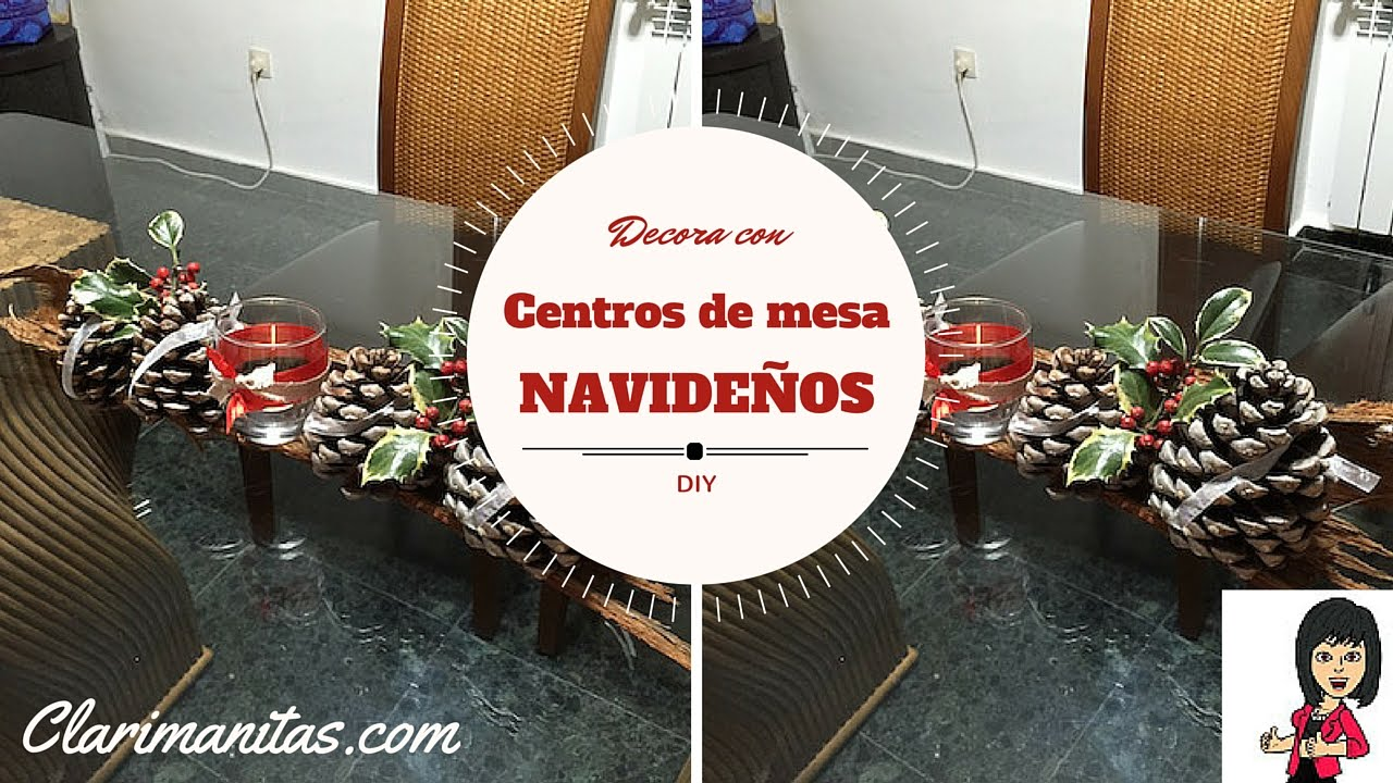 Centros de mesas navide os youtube - Centros de mesas navidenos ...