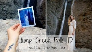 Jump Creek Falls, ID - Road Trip Film Tour VLOG