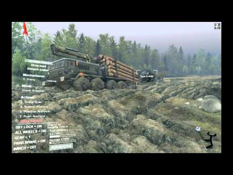 Spintires - River special delivery - 8pts in one go