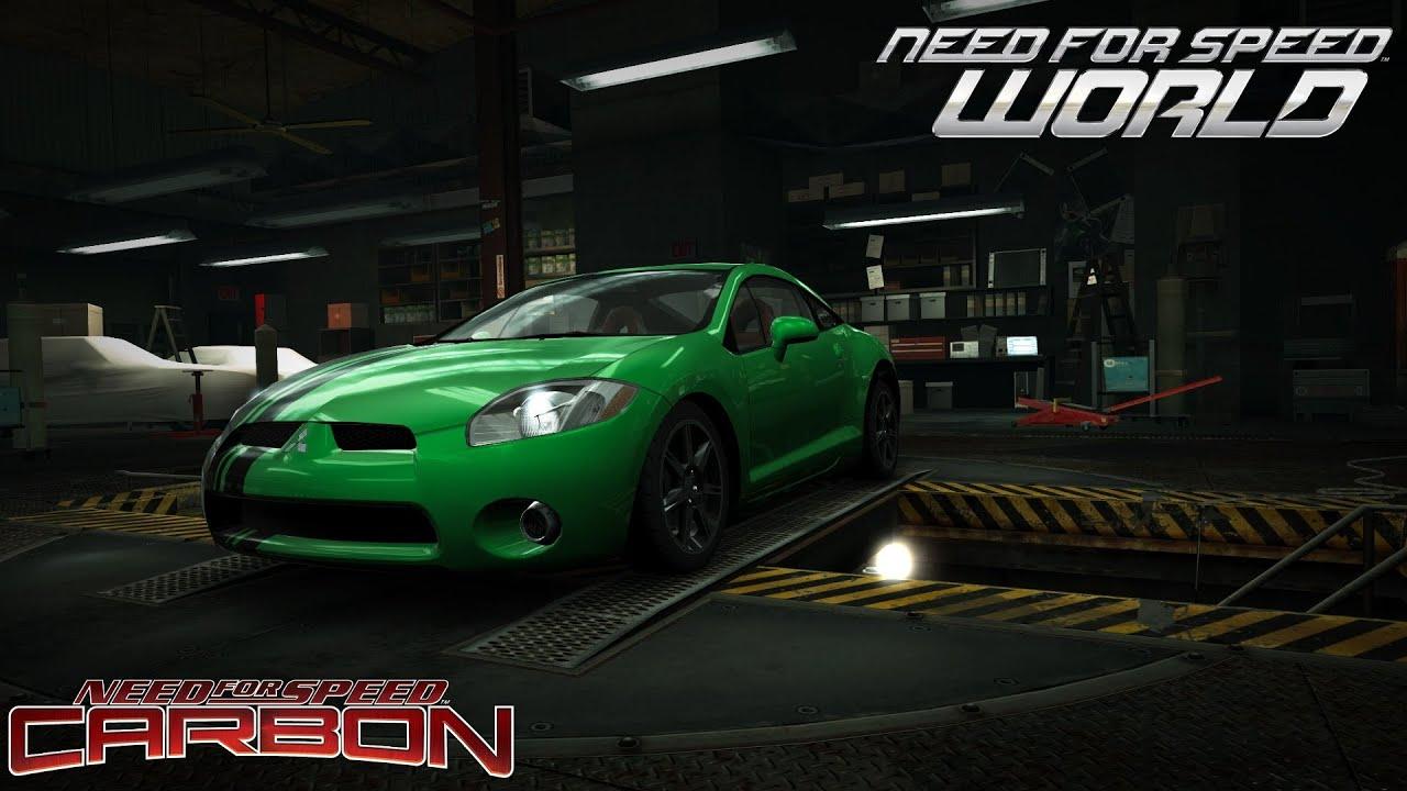 Need For Speed World Bushido Mitsubishi Eclipse Gt Nfs