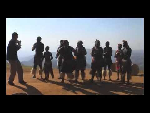 ZULU Dancers and Israeli violinist, Lior Kaminetsky, playing African music