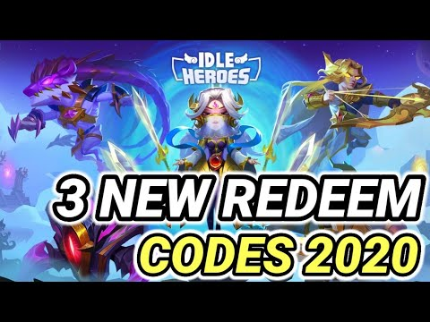 3 NEW REDEEM CODES IN IDLE HEROES OCTOBER 2020 I NEW GIFT ...