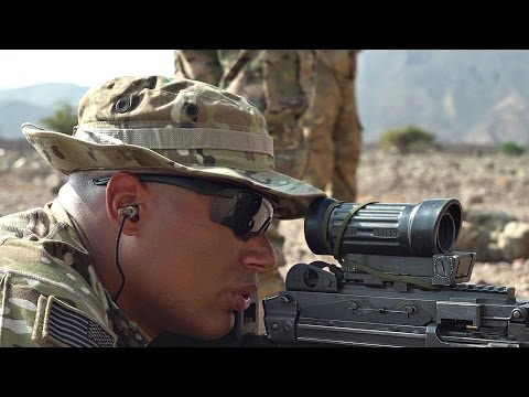 US Army Soldiers Hone Their Marksmanship Skills In Africa