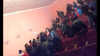 Драка на чемпионате Дагестана по армрестлингу