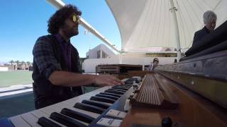 Carey Frank's hammond organ solo over blues