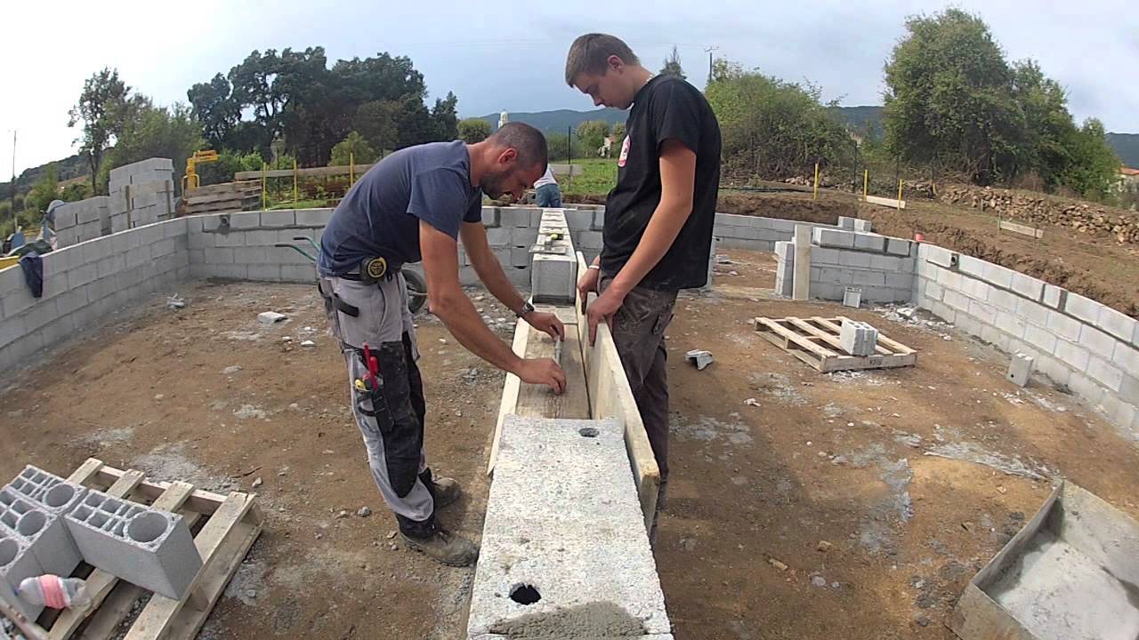 Construction du vide sanitaire youtube for Pose carrelage prix au m2 2013
