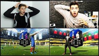 ICH zeige euch die besten RETRO Pack Opening BINGOS aus FIFA 17 vs. WAKEZ!! 😱😱 Fifa 18 Ultimate Team