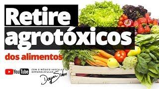 Dr. Dayan Siebra ensina como retirar os agrotóxicos em frutas, legumes e verduras