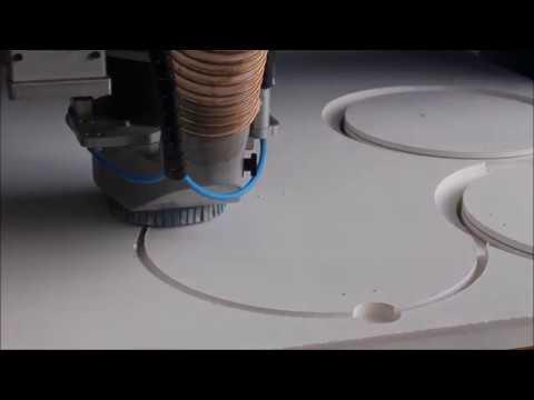 MECAPRO 3015 découpe et usinage Silicate de Calcium 30mm