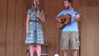 "Nora Jane Struthers sings ""Katie Dear"" in the Galax Folk Song Competition"