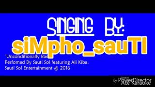Sauti Sol - Unconditionally Bae Karaoke Lyrics & Beat Chorus