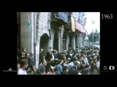 World Day for Audiovisual Heritage - Girona: La Rambla
