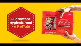 How to book Food on Train with RailYatri