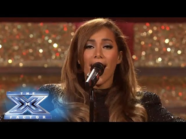 Finale Leona Lewis Returns To Perform One More Sleep The X Factor Usa 2013 Youtube