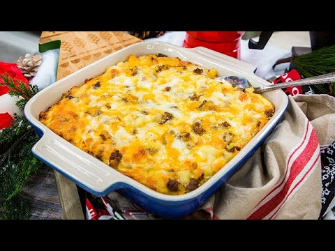 Vanessa Lachey's Christmas Breakfast Casserole Home & Family
