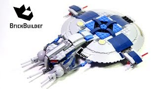 Kijk Lego Star Wars 75042 Droid Gunship filmpje