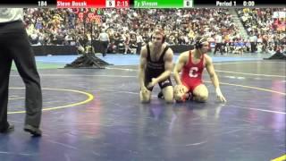 Steve Bosak Maj Ty Vinson (Oregon St) 12-0
