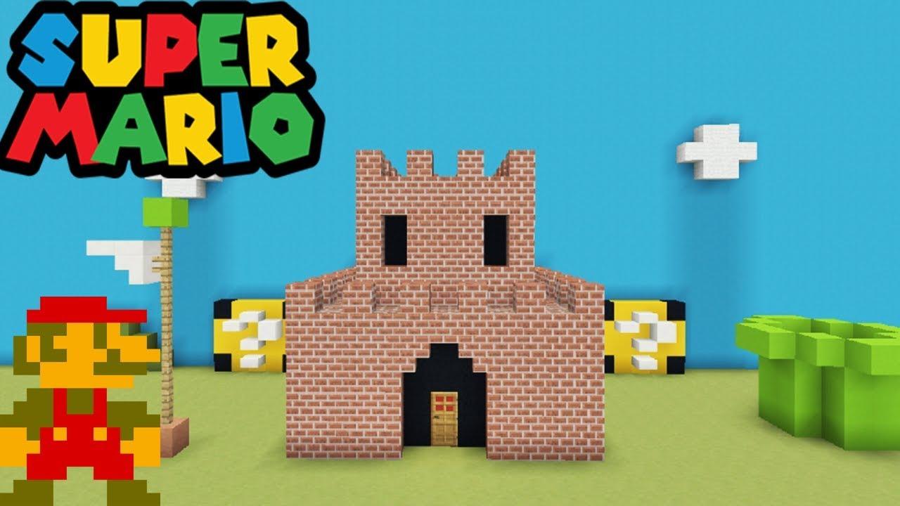 8 Bit Mario Castle
