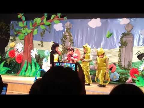 The Selfish Ladybird - Raena As Gus The Grasshopper