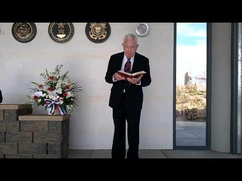 Military Funeral Service for Patrick Reding - Dixon, CA
