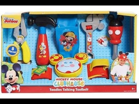 disney mickey mouse tool set gabriel toysreview -